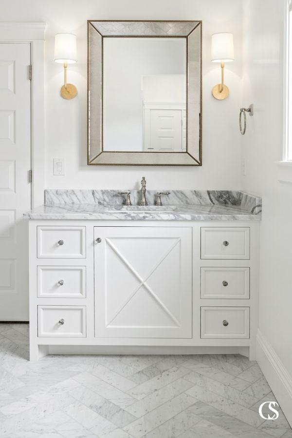best bathroom cabinet design