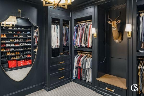 best built in cabinet closet design