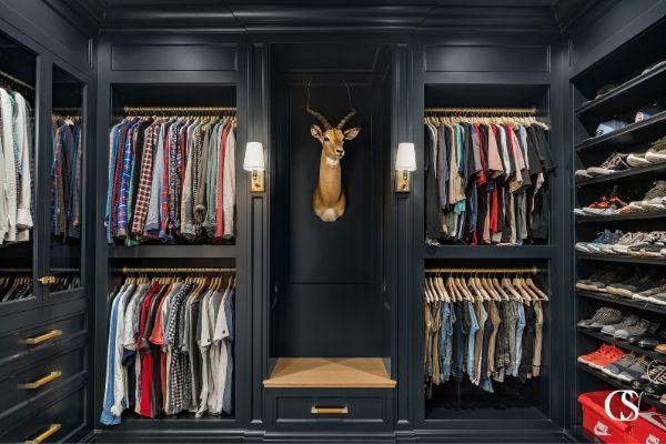 best custom built in cabinet closet design