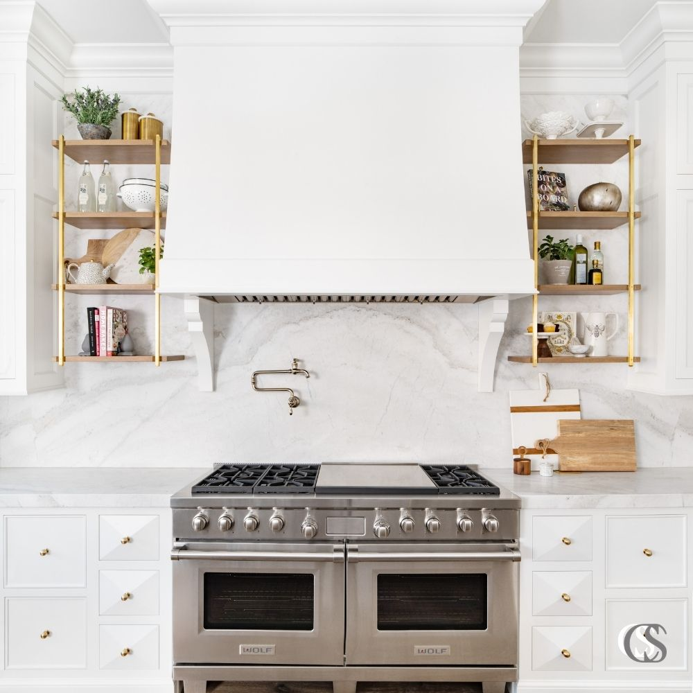 When coming up with the best custom kitchen cabinets, making the best of your floor plan and wall space are key, as well as utilizing spaces you may not think of off the bat.