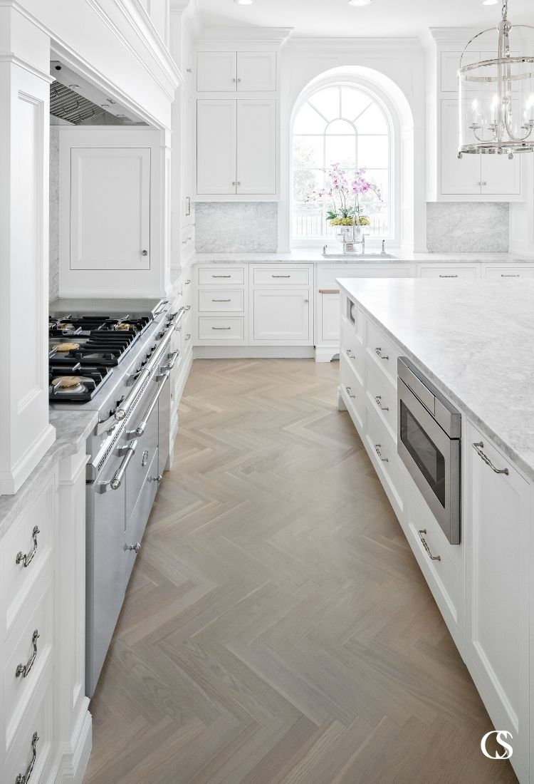 Don't be afraid to go all white! Some of the best white kitchen design totally embraces the brightness without fear of sterility—and it absolutely works.