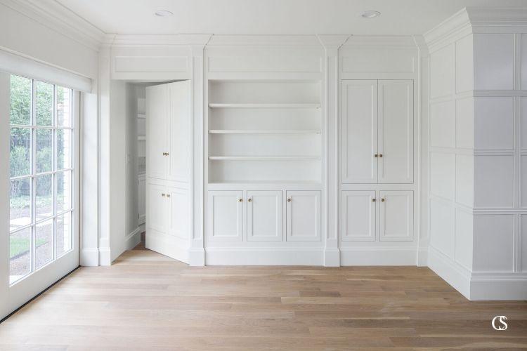 built in cabinet closet