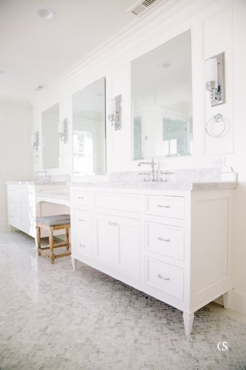 custom bathroom design two sink