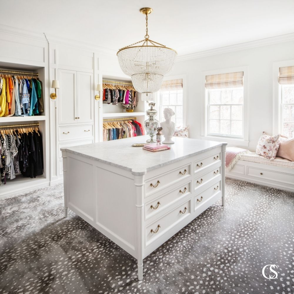 custom built in cabinet closet design idea