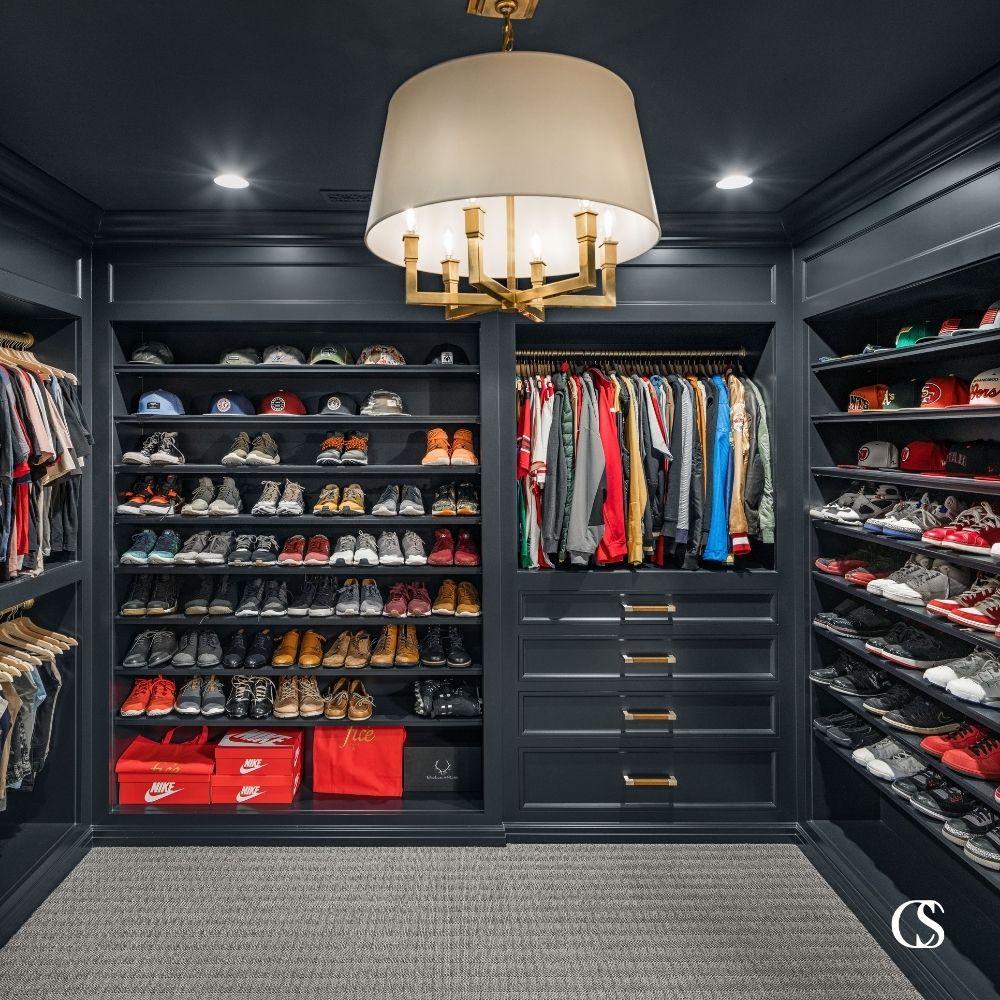 custom built in cabinet closet design