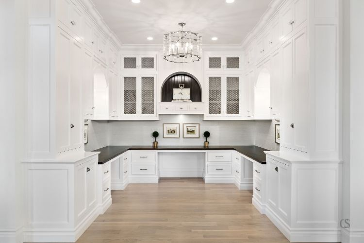 custom cabinets for office space