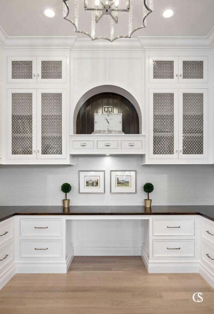 custom cabinets office