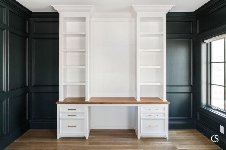 custom office cabinet