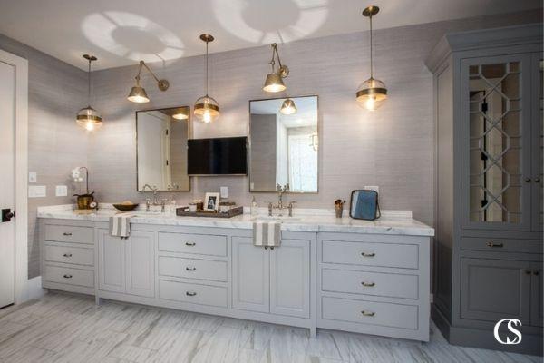 top bathroom cabinet designs