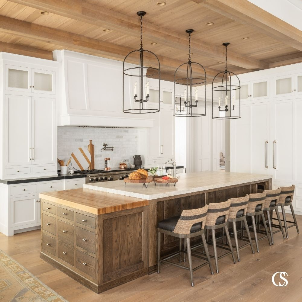 You've never seen a kitchen island like this! We specially in completely unique kitchen cabinets—and in the rest of your home—all meticulously designed and flawlessly executed.