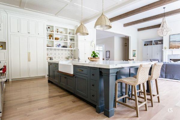 Our Favorite Blue Kitchen Cabinet Paint, Paint Kitchen Cabinets Dark Blue