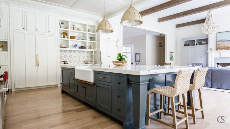 Our Favorite Blue Kitchen Cabinet Paint, Best Blue Gray Paint For Kitchen Cabinets