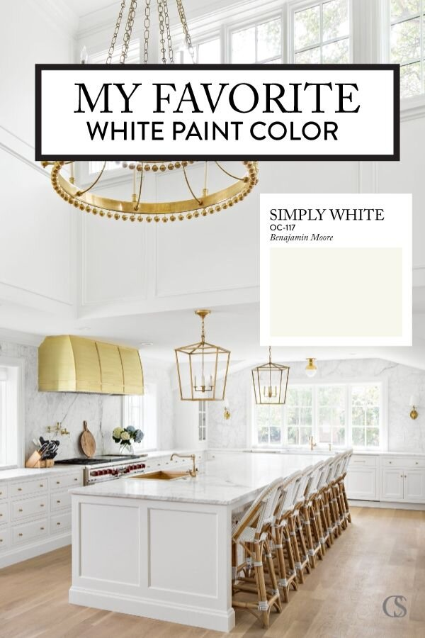 Our Favorite White Kitchen Cabinet, What S The Best White For Kitchen Cabinets