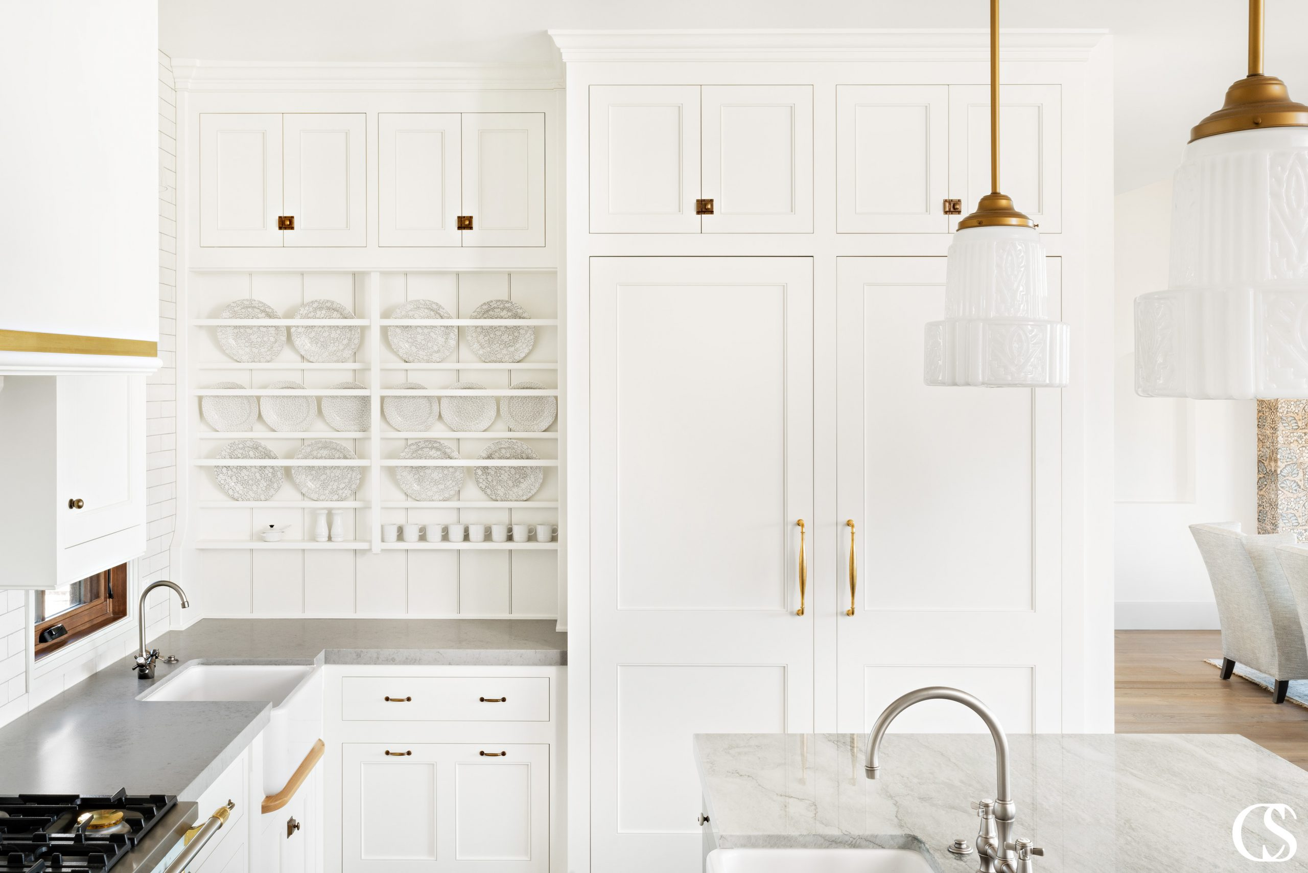 Have china you absolutely love? With custom cabinets for your kitchen, you can always have it on display and easy to use.