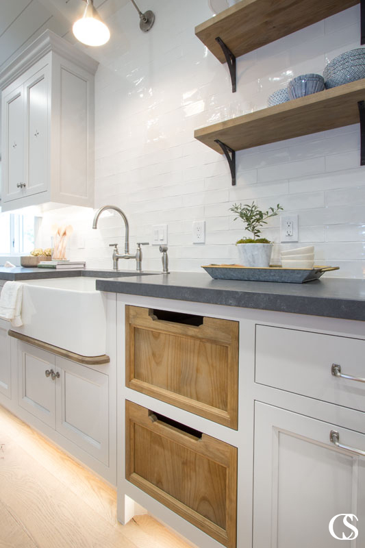 What would the custom cabinets in your kitchen look like? Do you have unique ideas that you know you can't find in stock cabinetry? Find out how we can help design the kitchen of your dreams at ChristopherScottCabinetry.com!