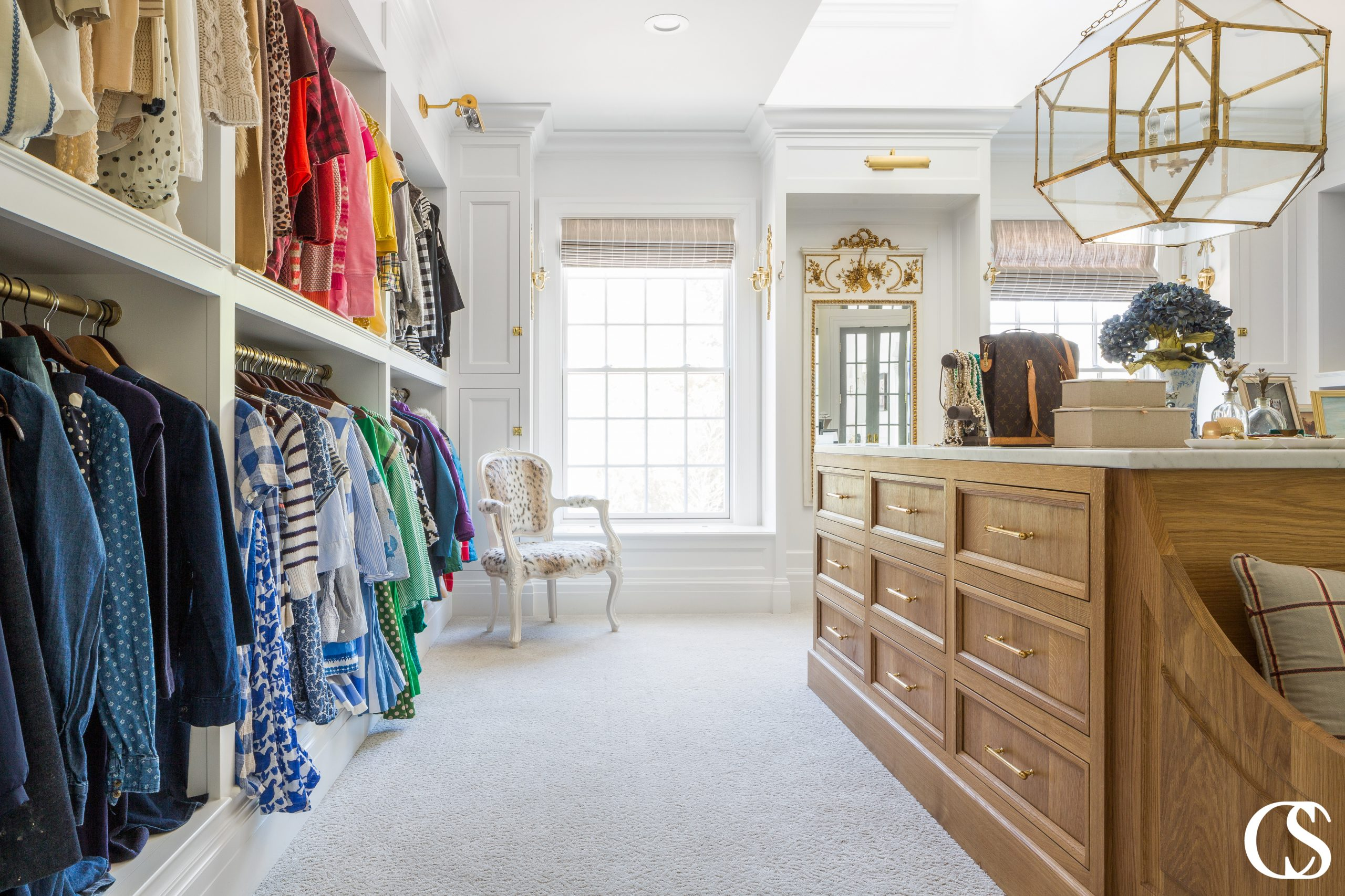 One thing you should never feel when walking into a custom closet design is that you're, well, in a closet. It should feel more like an intimate and comfortable shopping experience!