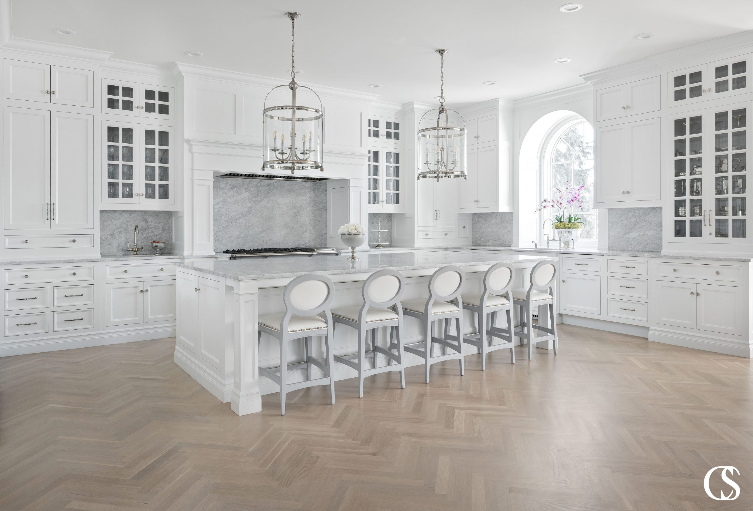 oven hood kitchen island design white