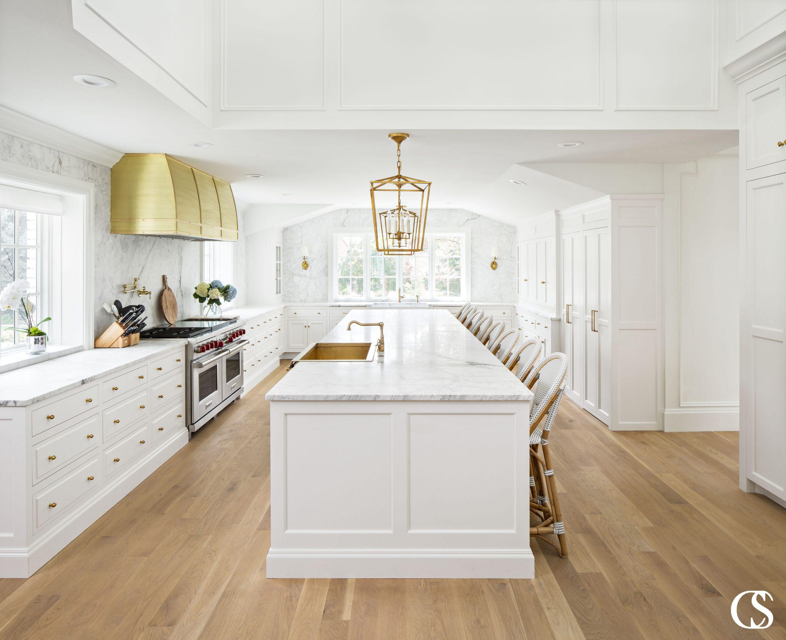 oven hood white kitchen island