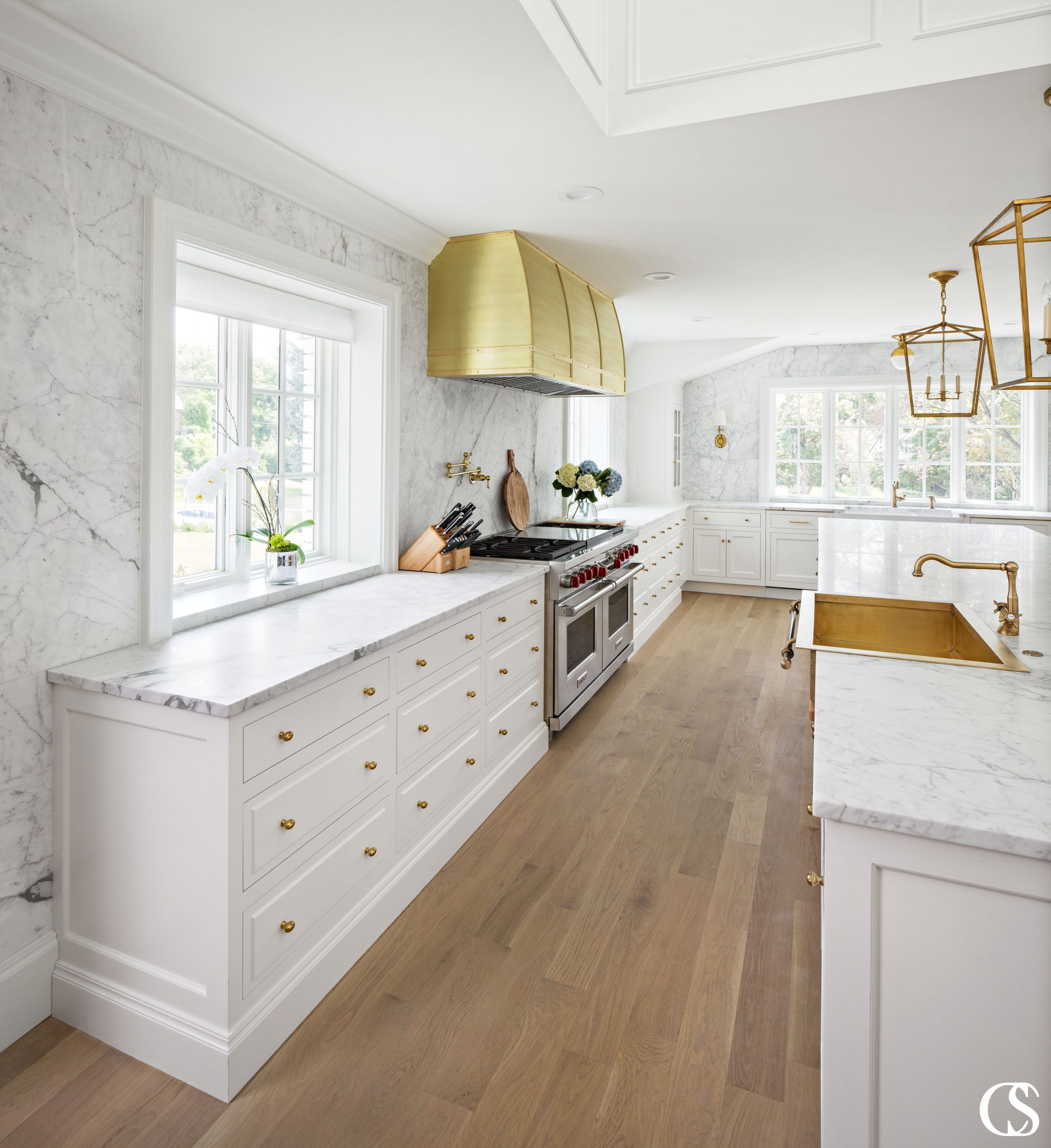 The best custom cabinetry and design is not only going to work hard for you and your family, but beautifully express your design aesthetic as well. We can make that happen. Check us out at ChristopherScottCabinetry.com to find more inspiration for your new white kitchen cabinets!